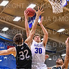 Hamilton College G/F Peter Hoffmann (30)<br /> <br /> 2/24/19 12:05:31 PM NESCAC 2019 Men's Basketball Finals:  #13 Amherst College v #8 Hamilton College at Margaret Bundy Scott Field House, Hamilton College, Clinton, NY<br /> <br /> Final:  Amherst 62   Hamilton 56 <br /> <br /> Photo by Josh McKee