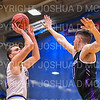 Hamilton College G/F Michael Grassey (11)<br /> <br /> 2/24/19 12:08:23 PM NESCAC 2019 Men's Basketball Finals:  #13 Amherst College v #8 Hamilton College at Margaret Bundy Scott Field House, Hamilton College, Clinton, NY<br /> <br /> Final:  Amherst 62   Hamilton 56 <br /> <br /> Photo by Josh McKee
