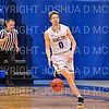 Hamilton College guard Tim Doyle (0)<br /> <br /> 2/24/19 12:04:48 PM NESCAC 2019 Men's Basketball Finals:  #13 Amherst College v #8 Hamilton College at Margaret Bundy Scott Field House, Hamilton College, Clinton, NY<br /> <br /> Final:  Amherst 62   Hamilton 56 <br /> <br /> Photo by Josh McKee