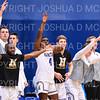 Team, Celebration<br /> <br /> 2/16/19 3:05:05 PM NESCAC Men's Basketball Quarterfinals:  Colby College v #10 Hamilton College at Margaret Bundy Scott Field House, Hamilton College, Clinton, NY<br /> <br /> Final:  Colby 88   Hamilton 93<br /> <br /> Photo by Josh McKee