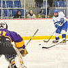 Hamilton College forward Sterling Bray (26)<br /> <br /> 2/23/19 1:05:29 PM NESCAC 2019 Men's Hockey Quarterfinals:  Williams College v Hamilton College at Russell Sage Rink, Hamilton College, Clinton, NY<br /> <br /> Final:  Williams 3   Hamilton 4 (OT) <br /> <br /> Photo by Josh McKee