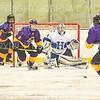 Hamilton College goaltender Anthony Tirabassi (34)<br /> <br /> 2/23/19 1:04:04 PM NESCAC 2019 Men's Hockey Quarterfinals:  Williams College v Hamilton College at Russell Sage Rink, Hamilton College, Clinton, NY<br /> <br /> Final:  Williams 3   Hamilton 4 (OT) <br /> <br /> Photo by Josh McKee