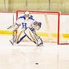 Hamilton College goaltender Gabrielle Venne (31)<br /> <br /> 2/23/19 5:07:48 PM NESCAC 2019 Women's Hockey Quarterfinals:  Colby College v Hamilton College at Russell Sage Rink, Hamilton College, Clinton, NY<br /> <br /> Final:  Colby 1   Hamilton 3<br /> <br /> Photo by Josh McKee