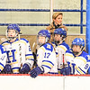 Team, Hamilton College head coach Emily McNamara<br /> <br /> 2/23/19 5:09:11 PM NESCAC 2019 Women's Hockey Quarterfinals:  Colby College v Hamilton College at Russell Sage Rink, Hamilton College, Clinton, NY<br /> <br /> Final:  Colby 1   Hamilton 3<br /> <br /> Photo by Josh McKee