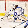 Hamilton College goaltender Gabrielle Venne (31)<br /> <br /> 2/23/19 5:13:21 PM NESCAC 2019 Women's Hockey Quarterfinals:  Colby College v Hamilton College at Russell Sage Rink, Hamilton College, Clinton, NY<br /> <br /> Final:  Colby 1   Hamilton 3<br /> <br /> Photo by Josh McKee