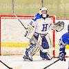 Hamilton College goaltender Gabrielle Venne (31)<br /> <br /> 2/23/19 5:11:02 PM NESCAC 2019 Women's Hockey Quarterfinals:  Colby College v Hamilton College at Russell Sage Rink, Hamilton College, Clinton, NY<br /> <br /> Final:  Colby 1   Hamilton 3<br /> <br /> Photo by Josh McKee