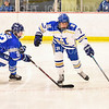 Hamilton College defender Emily Walther (7)<br /> <br /> 2/23/19 5:08:03 PM NESCAC 2019 Women's Hockey Quarterfinals:  Colby College v Hamilton College at Russell Sage Rink, Hamilton College, Clinton, NY<br /> <br /> Final:  Colby 1   Hamilton 3<br /> <br /> Photo by Josh McKee