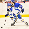 Hamilton College forward Missy Segall (15)<br /> <br /> 2/23/19 5:11:12 PM NESCAC 2019 Women's Hockey Quarterfinals:  Colby College v Hamilton College at Russell Sage Rink, Hamilton College, Clinton, NY<br /> <br /> Final:  Colby 1   Hamilton 3<br /> <br /> Photo by Josh McKee