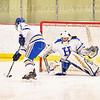 Hamilton College goaltender Gabrielle Venne (31)<br /> <br /> 2/23/19 5:07:57 PM NESCAC 2019 Women's Hockey Quarterfinals:  Colby College v Hamilton College at Russell Sage Rink, Hamilton College, Clinton, NY<br /> <br /> Final:  Colby 1   Hamilton 3<br /> <br /> Photo by Josh McKee