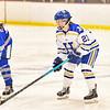 Hamilton College forward Maddie Beitler (23)<br /> <br /> 2/23/19 5:09:16 PM NESCAC 2019 Women's Hockey Quarterfinals:  Colby College v Hamilton College at Russell Sage Rink, Hamilton College, Clinton, NY<br /> <br /> Final:  Colby 1   Hamilton 3<br /> <br /> Photo by Josh McKee