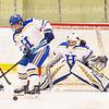 Hamilton College goaltender Gabrielle Venne (31)<br /> <br /> 2/23/19 5:07:58 PM NESCAC 2019 Women's Hockey Quarterfinals:  Colby College v Hamilton College at Russell Sage Rink, Hamilton College, Clinton, NY<br /> <br /> Final:  Colby 1   Hamilton 3<br /> <br /> Photo by Josh McKee