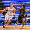 Hamilton College guard Carly O'Hern (11)<br /> <br /> 11/28/18 7:35:03 PM Women's Basketball: Morrisville State v Hamilton College at Margaret Bundy Scott Field House, Hamilton College, Clinton, NY<br /> <br /> Final: Morrisville 60   Hamilton 91<br /> <br /> Photo by Josh McKee