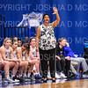 Hamilton College head coach Mahogany Green<br /> <br /> 11/28/18 7:34:52 PM Women's Basketball: Morrisville State v Hamilton College at Margaret Bundy Scott Field House, Hamilton College, Clinton, NY<br /> <br /> Final: Morrisville 60   Hamilton 91<br /> <br /> Photo by Josh McKee