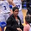 Hamilton College head coach Mahogany Green<br /> <br /> 11/28/18 7:23:47 PM Women's Basketball: Morrisville State v Hamilton College at Margaret Bundy Scott Field House, Hamilton College, Clinton, NY<br /> <br /> Final: Morrisville 60   Hamilton 91<br /> <br /> Photo by Josh McKee