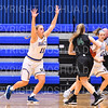 Hamilton College guard Carly O'Hern (11)<br /> <br /> 11/28/18 7:20:06 PM Women's Basketball: Morrisville State v Hamilton College at Margaret Bundy Scott Field House, Hamilton College, Clinton, NY<br /> <br /> Final: Morrisville 60   Hamilton 91<br /> <br /> Photo by Josh McKee