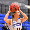 Hamilton College guard Carly O'Hern (11)<br /> <br /> 11/28/18 7:05:12 PM Women's Basketball: Morrisville State v Hamilton College at Margaret Bundy Scott Field House, Hamilton College, Clinton, NY<br /> <br /> Final: Morrisville 60   Hamilton 91<br /> <br /> Photo by Josh McKee
