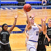 Hamilton College guard Carly O'Hern (11)<br /> <br /> 11/28/18 7:56:32 PM Women's Basketball: Morrisville State v Hamilton College at Margaret Bundy Scott Field House, Hamilton College, Clinton, NY<br /> <br /> Final: Morrisville 60   Hamilton 91<br /> <br /> Photo by Josh McKee