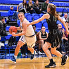 Hamilton College guard Carly O'Hern (11)<br /> <br /> 11/28/18 7:25:10 PM Women's Basketball: Morrisville State v Hamilton College at Margaret Bundy Scott Field House, Hamilton College, Clinton, NY<br /> <br /> Final: Morrisville 60   Hamilton 91<br /> <br /> Photo by Josh McKee