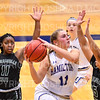 Hamilton College guard Carly O'Hern (11)<br /> <br /> 11/28/18 7:56:31 PM Women's Basketball: Morrisville State v Hamilton College at Margaret Bundy Scott Field House, Hamilton College, Clinton, NY<br /> <br /> Final: Morrisville 60   Hamilton 91<br /> <br /> Photo by Josh McKee
