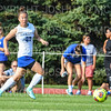 Hamilton College forward Sydney Kim (23)<br /> <br /> 9/5/18 5:05:52 PM Women's Soccer:  Williams College vs Hamilton College, at Love Field, Hamilton College, Clinton NY<br /> <br /> Final:  Williams  2   Hamilton 1<br /> <br /> Photo by Josh McKee