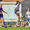 Hamilton College defender Katie McKillop (13)<br /> <br /> 9/5/18 4:32:59 PM Women's Soccer:  Williams College vs Hamilton College, at Love Field, Hamilton College, Clinton NY<br /> <br /> Final:  Williams  2   Hamilton 1<br /> <br /> Photo by Josh McKee