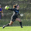 Hamilton College goalkeeper Rachel Pike (1)<br /> <br /> 9/5/18 5:08:50 PM Women's Soccer:  Williams College vs Hamilton College, at Love Field, Hamilton College, Clinton NY<br /> <br /> Final:  Williams  2   Hamilton 1<br /> <br /> Photo by Josh McKee