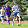 Hamilton College defender Katie McKillop (13)<br /> <br /> 9/5/18 4:31:20 PM Women's Soccer:  Williams College vs Hamilton College, at Love Field, Hamilton College, Clinton NY<br /> <br /> Final:  Williams  2   Hamilton 1<br /> <br /> Photo by Josh McKee