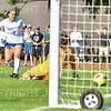 Hamilton College forward Cat Gambino (2), GOAL<br /> <br /> 9/5/18 4:41:08 PM Women's Soccer:  Williams College vs Hamilton College, at Love Field, Hamilton College, Clinton NY<br /> <br /> Final:  Williams  2   Hamilton 1<br /> <br /> Photo by Josh McKee