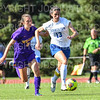 Hamilton College defender Katie McKillop (13)<br /> <br /> 9/5/18 4:31:19 PM Women's Soccer:  Williams College vs Hamilton College, at Love Field, Hamilton College, Clinton NY<br /> <br /> Final:  Williams  2   Hamilton 1<br /> <br /> Photo by Josh McKee