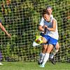Hamilton College forward Sydney Kim (23)<br /> <br /> 9/5/18 5:29:37 PM Women's Soccer:  Williams College vs Hamilton College, at Love Field, Hamilton College, Clinton NY<br /> <br /> Final:  Williams  2   Hamilton 1<br /> <br /> Photo by Josh McKee