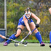Hamilton College D/M Keeley Duran (21)<br /> <br /> 10/30/19 5:08:31 PM Field Hockey: University of Rochester v Hamilton College at Goodfriend Field, Hamilton College, Clinton, NY<br /> <br /> Final:  Rochester 1   Hamilton 3<br /> <br /> Photo by Josh McKee