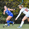 Hamilton College M Lizzie Clarke (7)<br /> <br /> 10/23/19 5:43:30 PM Field Hockey: Utica College v Hamilton College at Goodfriend Field, Hamilton College, Clinton, NY<br /> <br /> Final:  Utica 0   Hamilton 4<br /> <br /> Photo by Josh McKee