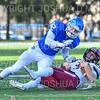 Hamilton College linebacker Mike Cairns (32)<br /> <br /> 11/9/19 3:21:29 PM Football:  Bates College v Hamilton College at Steuben Field, Hamilton College, Clinton, NY<br /> <br /> Final:  Bates 26  Hamilton 21<br /> <br /> Photo by Josh McKee
