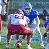 Hamilton College linebacker Carmine Bruno (4)<br /> <br /> 11/9/19 1:21:15 PM Football:  Bates College v Hamilton College at Steuben Field, Hamilton College, Clinton, NY<br /> <br /> Final:  Bates 26  Hamilton 21<br /> <br /> Photo by Josh McKee