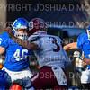 Hamilton College linebacker Pat Morelli (46), Hamilton College defensive back Sam Bowen (9)<br /> <br /> 11/9/19 3:22:49 PM Football:  Bates College v Hamilton College at Steuben Field, Hamilton College, Clinton, NY<br /> <br /> Final:  Bates 26  Hamilton 21<br /> <br /> Photo by Josh McKee