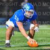 Hamilton College offensive lineman Mike Spicer (53)<br /> <br /> 11/9/19 1:54:14 PM Football:  Bates College v Hamilton College at Steuben Field, Hamilton College, Clinton, NY<br /> <br /> Final:  Bates 26  Hamilton 21<br /> <br /> Photo by Josh McKee