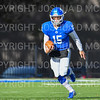 Hamilton College quarterback Kenny Gray (15)<br /> <br /> 11/9/19 1:52:28 PM Football:  Bates College v Hamilton College at Steuben Field, Hamilton College, Clinton, NY<br /> <br /> Final:  Bates 26  Hamilton 21<br /> <br /> Photo by Josh McKee