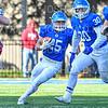 Hamilton College wide receiver Drew Granski (25)<br /> <br /> 11/9/19 3:29:46 PM Football:  Bates College v Hamilton College at Steuben Field, Hamilton College, Clinton, NY<br /> <br /> Final:  Bates 26  Hamilton 21<br /> <br /> Photo by Josh McKee