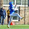 Hamilton College wide receiver Connor Cates (83)<br /> <br /> 11/9/19 1:15:48 PM Football:  Bates College v Hamilton College at Steuben Field, Hamilton College, Clinton, NY<br /> <br /> Final:  Bates 26  Hamilton 21<br /> <br /> Photo by Josh McKee