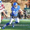 Hamilton College quarterback Kenny Gray (15)<br /> <br /> 11/9/19 2:51:17 PM Football:  Bates College v Hamilton College at Steuben Field, Hamilton College, Clinton, NY<br /> <br /> Final:  Bates 26  Hamilton 21<br /> <br /> Photo by Josh McKee
