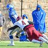 Hamilton College running back Zach Weinstein (20)<br /> <br /> 11/9/19 1:15:50 PM Football:  Bates College v Hamilton College at Steuben Field, Hamilton College, Clinton, NY<br /> <br /> Final:  Bates 26  Hamilton 21<br /> <br /> Photo by Josh McKee
