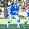 Hamilton College running back Zach Weinstein (20)<br /> <br /> 11/9/19 3:30:52 PM Football:  Bates College v Hamilton College at Steuben Field, Hamilton College, Clinton, NY<br /> <br /> Final:  Bates 26  Hamilton 21<br /> <br /> Photo by Josh McKee