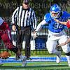 Hamilton College defensive lineman Luca Katz (92)<br /> <br /> 11/9/19 2:09:01 PM Football:  Bates College v Hamilton College at Steuben Field, Hamilton College, Clinton, NY<br /> <br /> Final:  Bates 26  Hamilton 21<br /> <br /> Photo by Josh McKee