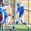 Hamilton College quarterback Kenny Gray (15)<br /> <br /> 11/9/19 2:45:18 PM Football:  Bates College v Hamilton College at Steuben Field, Hamilton College, Clinton, NY<br /> <br /> Final:  Bates 26  Hamilton 21<br /> <br /> Photo by Josh McKee
