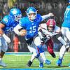 Hamilton College quarterback Kenny Gray (15)<br /> <br /> 11/9/19 1:40:54 PM Football:  Bates College v Hamilton College at Steuben Field, Hamilton College, Clinton, NY<br /> <br /> Final:  Bates 26  Hamilton 21<br /> <br /> Photo by Josh McKee
