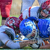 Hamilton College defensive lineman James Ball (90)<br /> <br /> 11/9/19 1:13:50 PM Football:  Bates College v Hamilton College at Steuben Field, Hamilton College, Clinton, NY<br /> <br /> Final:  Bates 26  Hamilton 21<br /> <br /> Photo by Josh McKee