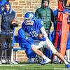 Hamilton College wide receiver Will Budington (18)<br /> <br /> 11/9/19 2:42:50 PM Football:  Bates College v Hamilton College at Steuben Field, Hamilton College, Clinton, NY<br /> <br /> Final:  Bates 26  Hamilton 21<br /> <br /> Photo by Josh McKee
