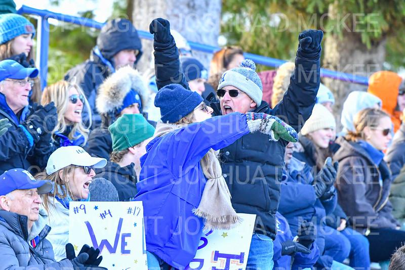 Crowd<br /> <br /> 11/9/19 3:06:03 PM Football:  Bates College v Hamilton College at Steuben Field, Hamilton College, Clinton, NY<br /> <br /> Final:  Bates 26  Hamilton 21<br /> <br /> Photo by Josh McKee
