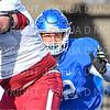 Hamilton College defensive lineman Luca Katz (92)<br /> <br /> 11/9/19 2:05:16 PM Football:  Bates College v Hamilton College at Steuben Field, Hamilton College, Clinton, NY<br /> <br /> Final:  Bates 26  Hamilton 21<br /> <br /> Photo by Josh McKee