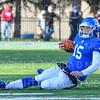 Hamilton College quarterback Kenny Gray (15)<br /> <br /> 11/9/19 3:17:15 PM Football:  Bates College v Hamilton College at Steuben Field, Hamilton College, Clinton, NY<br /> <br /> Final:  Bates 26  Hamilton 21<br /> <br /> Photo by Josh McKee